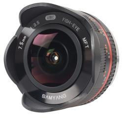 Объектив Samyang 7.5mm f/3.5 UMC Fish-eye Micro 4/3