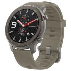Умные часы Amazfit GTR 47мм titanium case, fluororubber strap