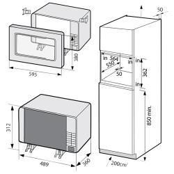 Микроволновая печь встраиваемая Samsung FW87SUB
