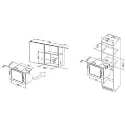 Микроволновая печь встраиваемая Hotpoint-Ariston MWHA 122.1 IX