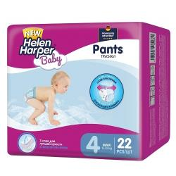 Helen Harper трусики Baby 4 (8-13 кг) 22 шт.