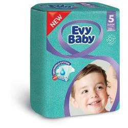 Evy Baby подгузники 5 (11-25 кг) 20 шт.