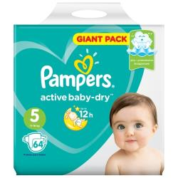 Pampers подгузники Active Baby-Dry 5 (11-16 кг)