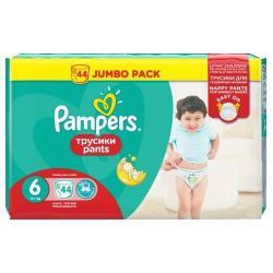 Pampers трусики Pants 6 (15+ кг) 44 шт.