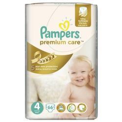 Pampers подгузники Premium Care 4 (8-14 кг) 66 шт.