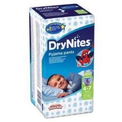 Huggies трусики DryNites для мальчиков 4-7 (17-30 кг) 10 шт.