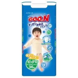 Goo.N трусики для мальчиков (12-20 кг) 36 шт.