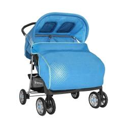 Прогулочная коляска Lorelli Twin