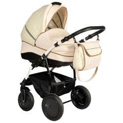 Универсальная коляска Indigo Indigo'17 S (Leather) (3 в 1)