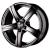 Колесный диск SKAD Sakura 7.5x17 / 5x114.3 D67.1 ET45 Черный матовый