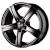 Колесный диск SKAD Sakura 7.5x17 / 5x114.3 D60.1 ET40 Черный матовый